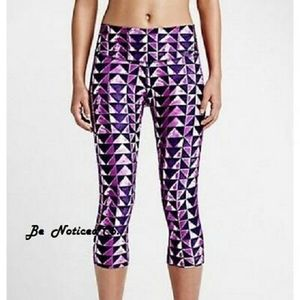 NIKE legend diamond training capri style #651573